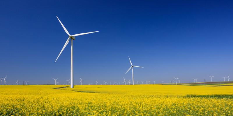 Erneuerbare Energien Windräder