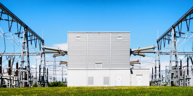 Umspannwerk Stromnetz