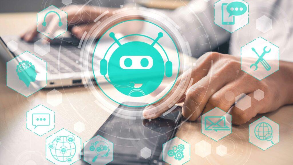 Chatbot kombiniert mit RPA